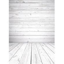 Greyish Wooden Plank Photographic Backgrounds Vinyl Cloth Backdrop Photo Studio for Children Baby Portrait Pets Toy Photoshoot