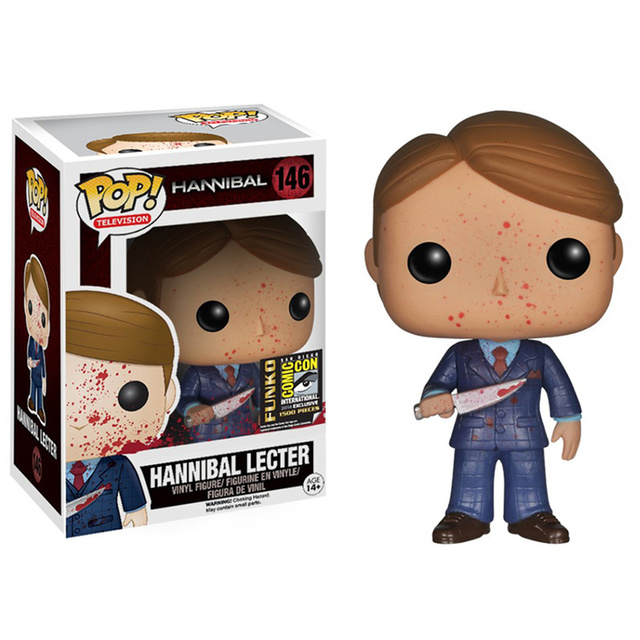 FUNKO POP Hannibal 146# Vinyl Action Figure Toys Movie Peripheral Collection Model Dolls for Kids Halloween Gifts 3
