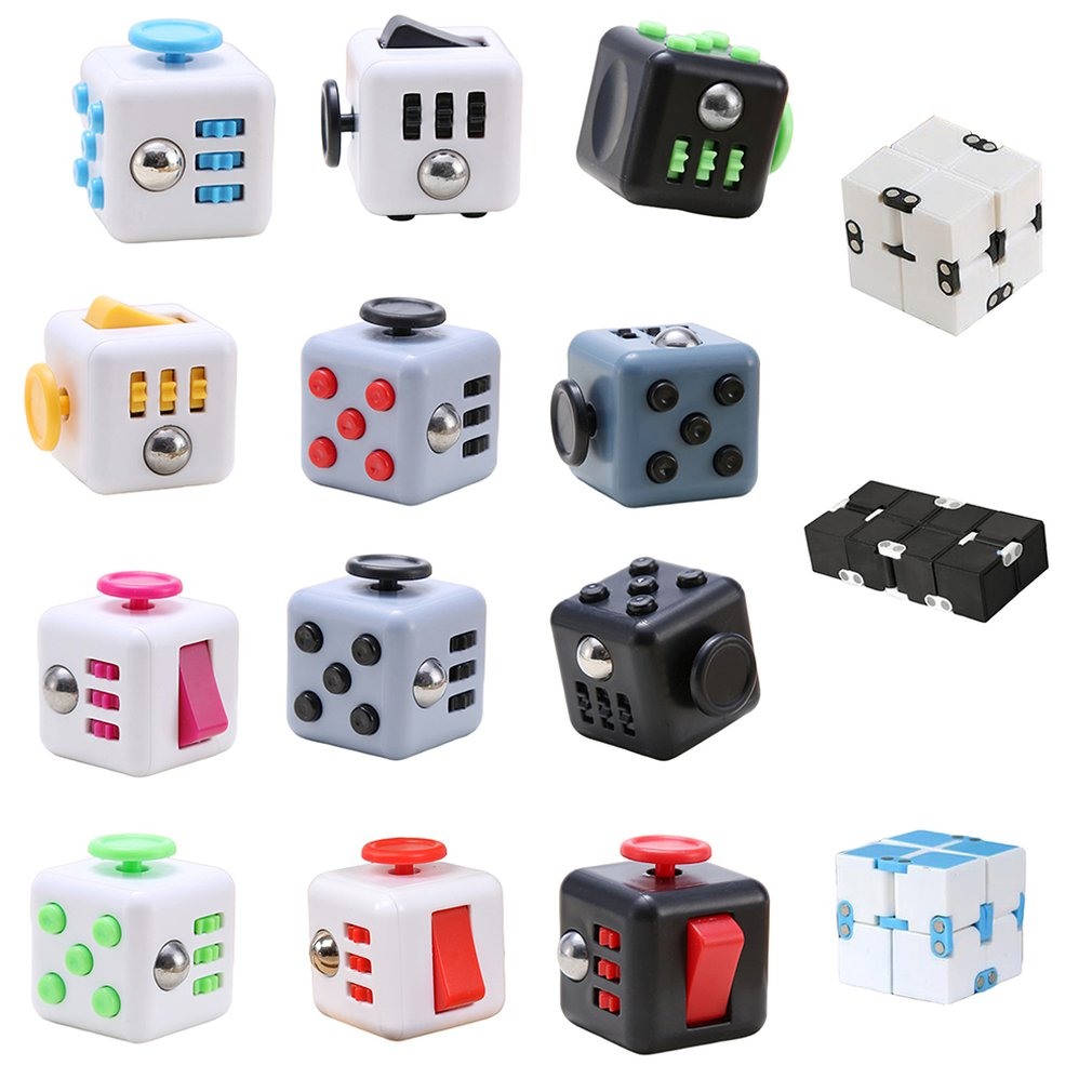 Decompression Unlimited Magic Square Fun Adult Toys Unpacking Dice Toys Lovely Emotional Venting Toy