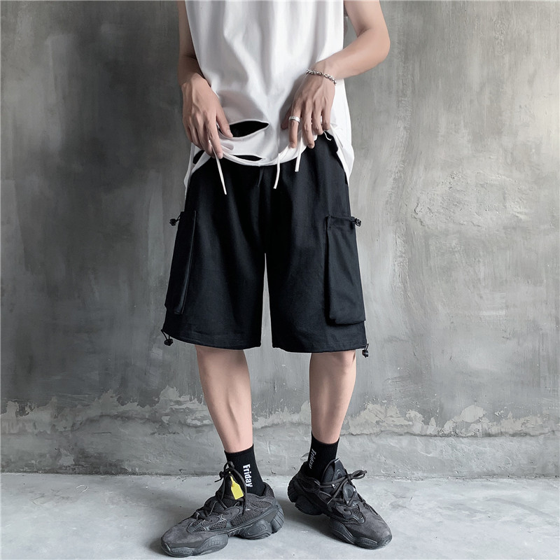 Shorts Men 2020 pantalones cortos hombre Summer Fitness Shorts Trend Loose Youth Sports Pants Wild Five-point Casual Cargo Pants