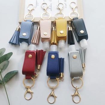 30ml Portable Mini Empty Bottle Travel Bottle Keychain Holder Refillable Empty Bottles For Hand Sani