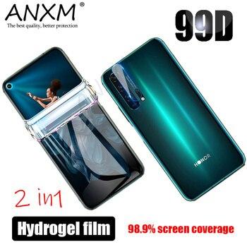 Перейти на Алиэкспресс и купить Гидрогелевая пленка для Huawei Honor 20 30 V30 Pro 30S, Защитная пленка для экрана объектива, не стекло для Honor 20 30 Pro, мягкая защитная пленка