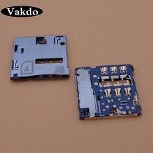2pcs Sim Card Reader Connector Socket Slot Tray for Huawei Honor 6 H60 H60-01 L02 L03 L12 L12 L11 High Quality