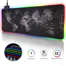 Carpet Desk-Mat Mouse-Pad LOL Computer Mause Led-Gamer 900x400 Large for CS Gaming RGB