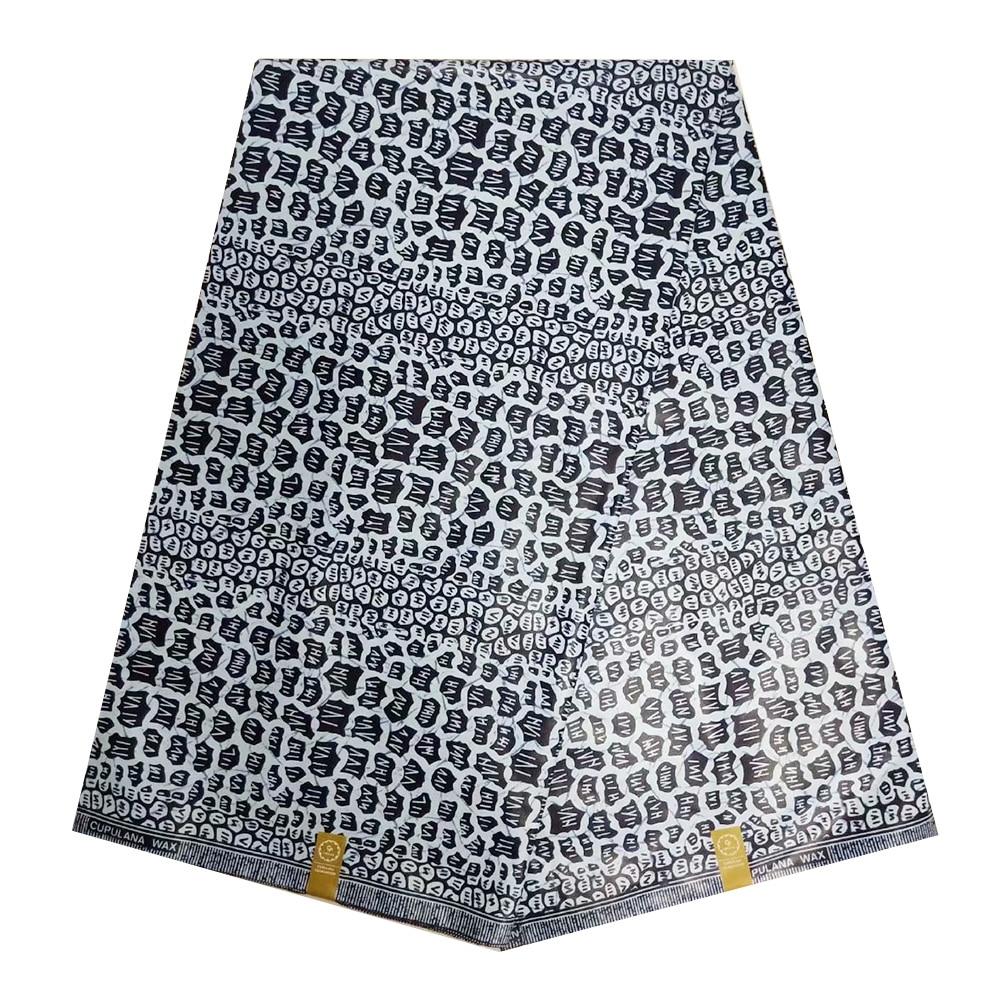 African Ghana Wax Fabric For Sewing, High End Real Dutch Prints Wax Fabrics Cotton, Ankara Nigerian Wax Fabric For Dress 6 Yards