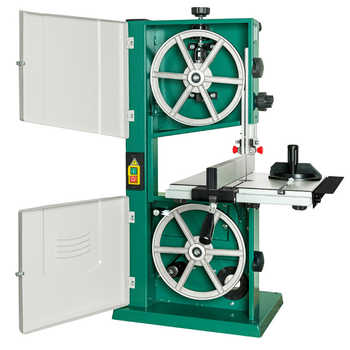 220V 10 Inch Band Saw Machine H0256 Band Saw Joinery Band Saw Machine Jig Saw Woodworking Processing Equipment 550W