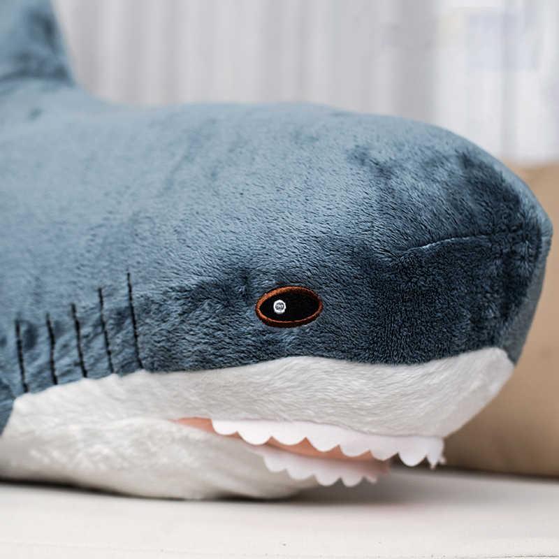 Плюшевая игрушечная Акула популярная спальная Подушка дорожная кукла-компаньон подарок милая плюшевая зверушка Акула Подушка-Рыба игрушки для детей