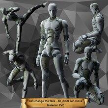 16cm-30cm 2 indústrias pesadas sintético figura humana modelo 1/6 ou 1/12 escala figura de ação collectible modelo brinquedo boneca presente