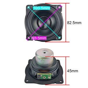 Image 2 - Ghxamp 3 インチ 15 ワットロングストロークウーファーミッドレンジスピーカー低周波ゴムアルミ振動板スピーカー diy オーラ 1 ペア