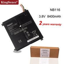 Kingsener NB116 Laptop Battery For Lenovo IdeaPAd 100S 100S 11IBY 100S 80R2 NB116 5B10K37675 0813001 3.8V 31.92WH 8400mAh