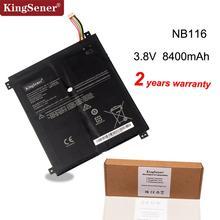 Аккумулятор Kingsener NB116 для ноутбука Lenovo IdeaPAd 100S 100S 11IBY 100S 80R2 NB116 5B10K37675 0813001 3,8 в 31.92WH 8400 мАч