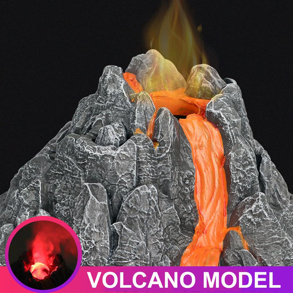 New Simulation Volcanic Eruption Model Steam Volcano Models Science Exploring Educational Kids Toys For Kids Birthday Gifts