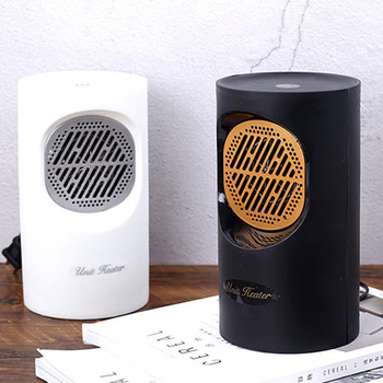 Warmer Machine Electric Heater Spiral Portable Heating Handy Quiet Desktop for Car Fast Room Heating Fan Home Office image