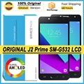 100% Оригинальный Amoled 5,0 ''ЖК дисплей для Samsung Galaxy J2 Prime SM-G532 SM-G532F Полный ЖК-дисплей сенсорный экран дигитайзер Ремонт Запчасти