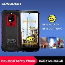 S16 atex взрывозащищенный ip68 смартфон helio p90 48mp тройные