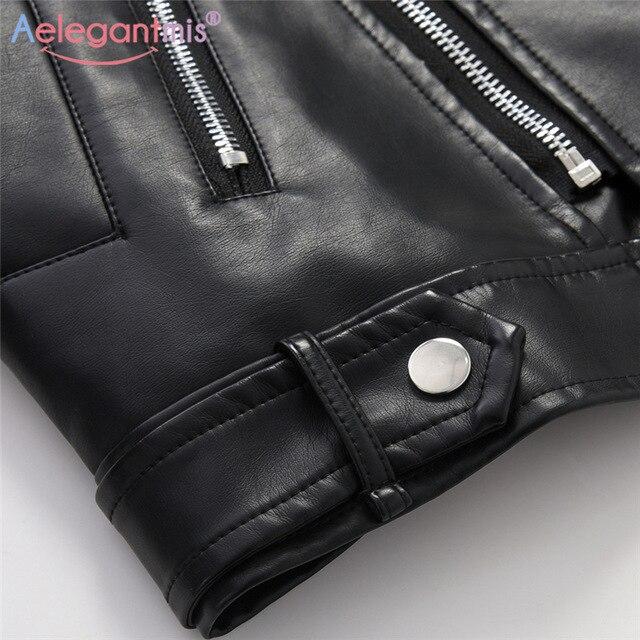 Biker Leather Jacket  4