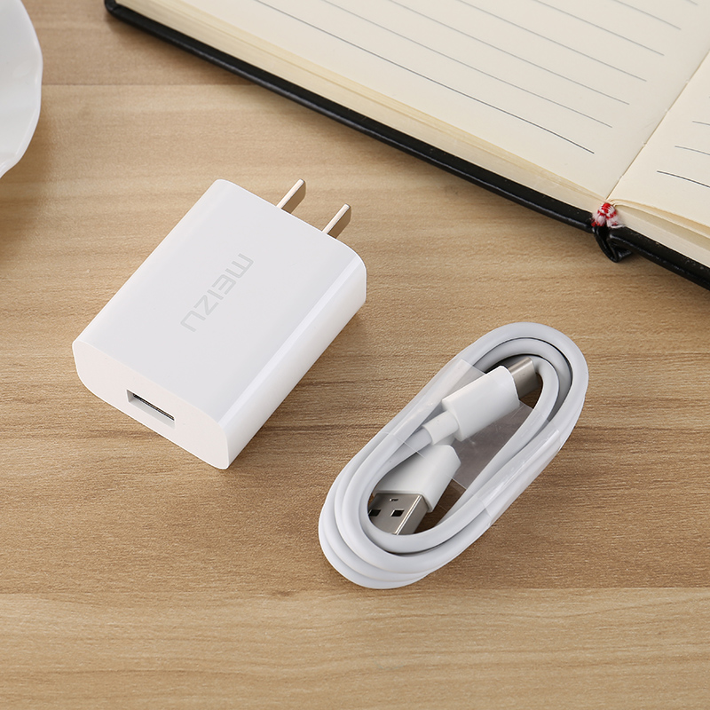 Original Meizu Quick Wall Charger MTP Mcharge 100CM USB TYPE C Data Cable 12V 2A For MX6 PRO 5 6 6S 7 Plus 15 16 M15 M16 M3X E3