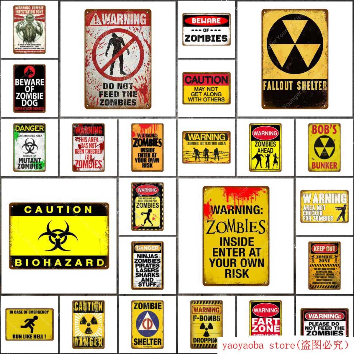 Gamer Zone Do Not Enter Cartel de Chapa Cartel Placa de Advertencia Pintura Decoraci/ón del hogar Vintage Decoraci/ón de Arte de Pared Retro Vintage Bar Pub Club