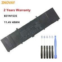 цена на 11.4V 48WH B31N1535 Laptop Battery Compatible with ASUS ZenBook UX310 UX310UA UX310UQ UX410UA UX410UQ Tablet B31N1535