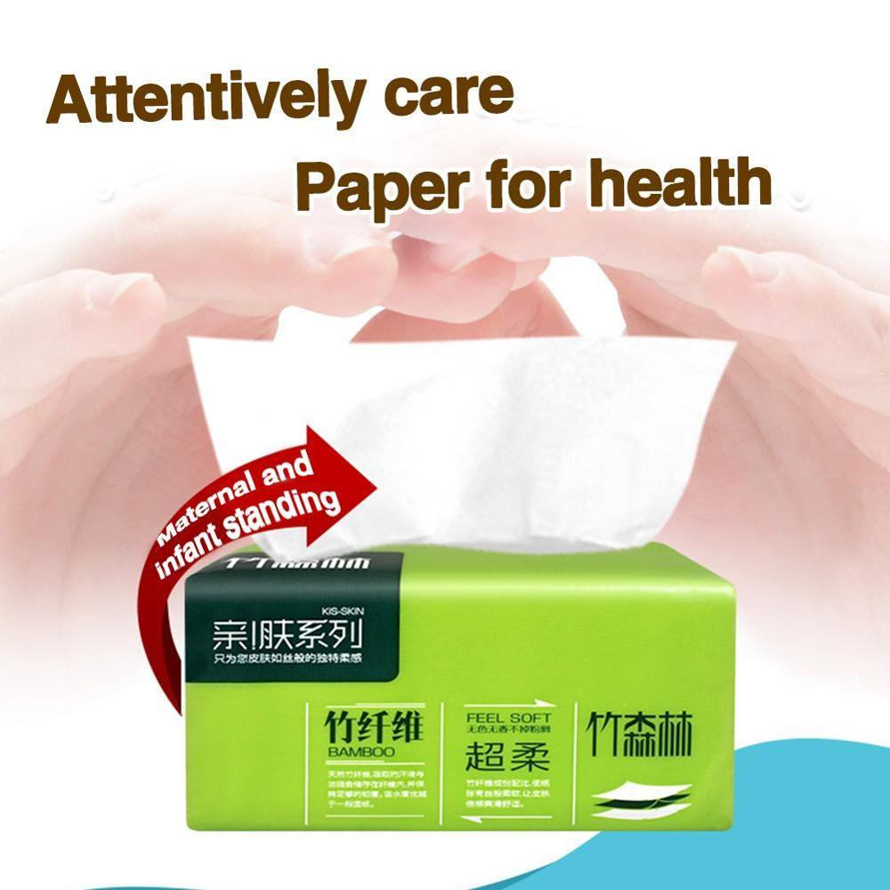 1pc Pumping Paper Baby Soft Toilet Paper Safe Skin Friendly Kitchen Paper Household Cleaning Supplies Toilet Tissue Paper