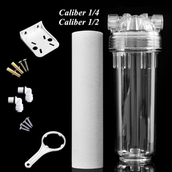water filter housing water filter 1/4 1/2 water filter replacement parts 1/4 water filter housing 10