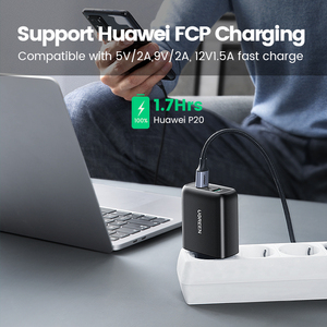 Image 3 - Ugreen USB Charger Quick Charge 3.0 36W Fast Charger Adapter QC3.0 Mobile Phone Chargers for iPhone Samsung Xiaomi Redmi Charger