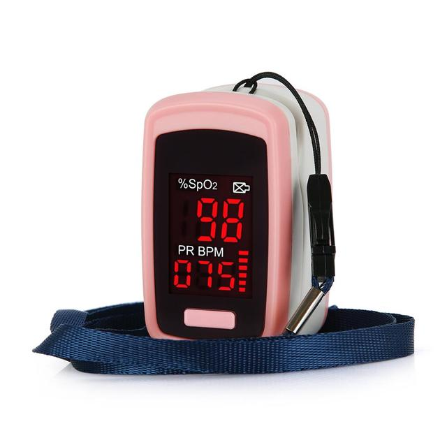 OLIECO Finger Pulse Oximeter PR SpO2 Meter Accurate Blood Oxygen Saturation De Dedo Pulso Oximetro Home family Pulse Oxymeter 5
