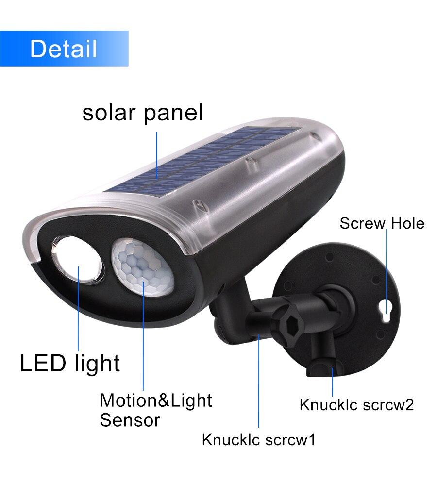 Energia Solar Jardim Lâmpada Do Gramado Lâmpada Paisagem Luzes Do Ponto