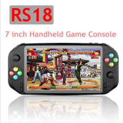 New Coolbaby For PS1 game RS18 7 inch Handheld Game Console Double Joystock Controller TF Card Built in 3500 mAh For PSP NES N64