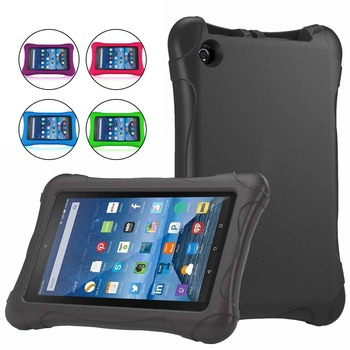 KK&LL For Amazon Fire 7 (5th/7th/9th Generation,2015 2017 2019 Release) Tablet-EVA Rubber Kids Stand Protecter Cover Case - discount item  5% OFF Tablet Accessories