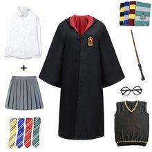 Гарри Поттера для костюмированной вечеринки костюм magic халат