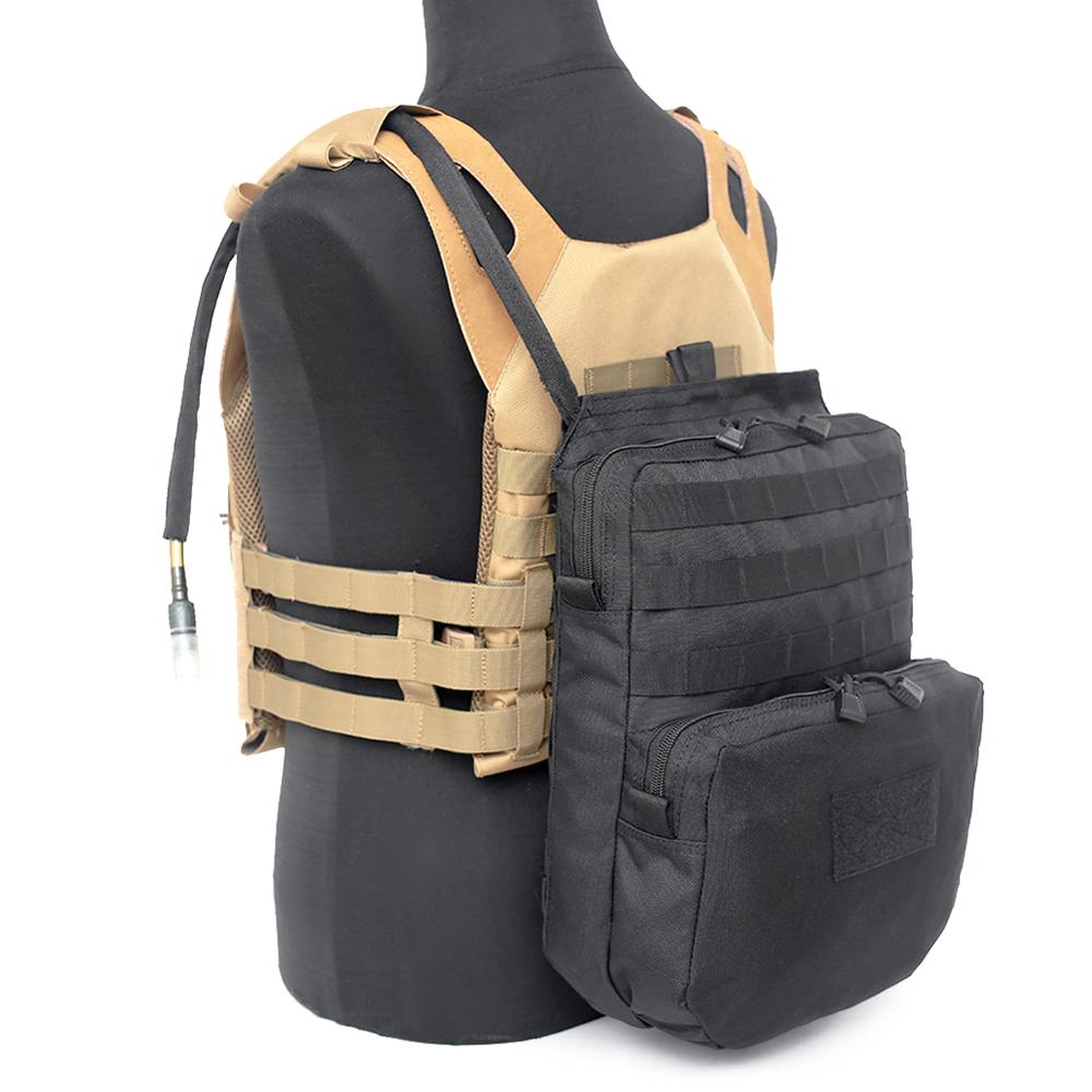 Sports Camp Climbing 3L Vest Hydration Pouch Camping  Molle Water Bladder Bag