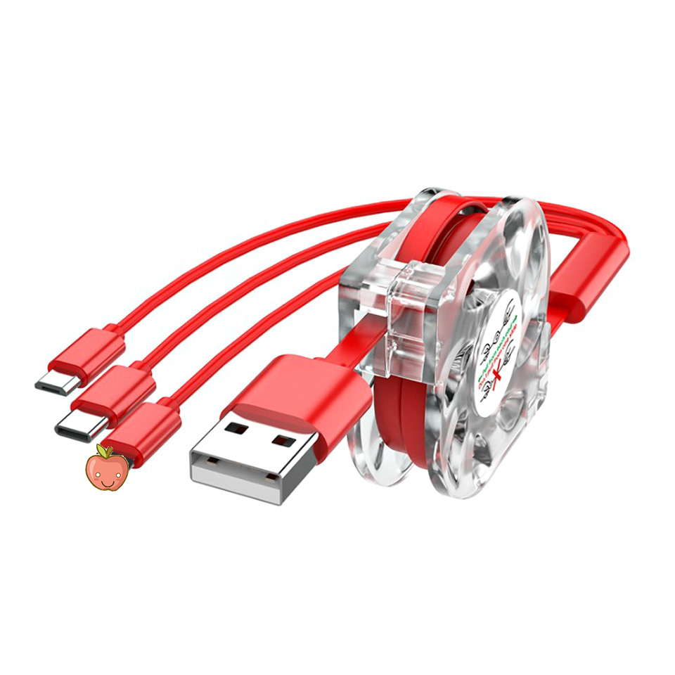 3 в 1 Выдвижной Micro USB Type C Мульти Кабель зарядного устройства для Samsung Galaxy S20 S10 S9 Plus мобильный телефон кабель для зарядки|Кабели для мобильных телефонов|   | АлиЭкспресс
