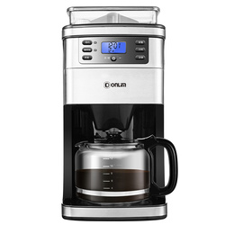Coffee Maker DL-KF4266 Coffee Machine Household Automatic Ground Soybean Powder Commercial American Office
