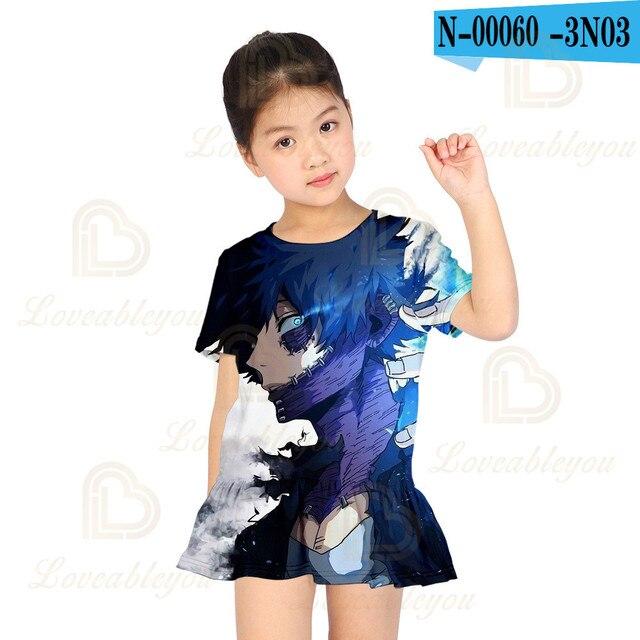 Купить новое популярное модное милое платье моя геройская академия