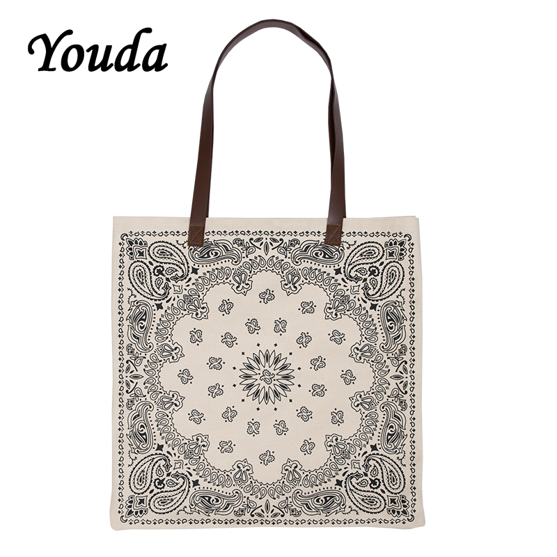 Youda Original Fashion Design Women Bags Ladies National Style Handbag Classic Female Shopping Bags Casual Girls Tote Handbags|Top-Handle Bags| - AliExpress