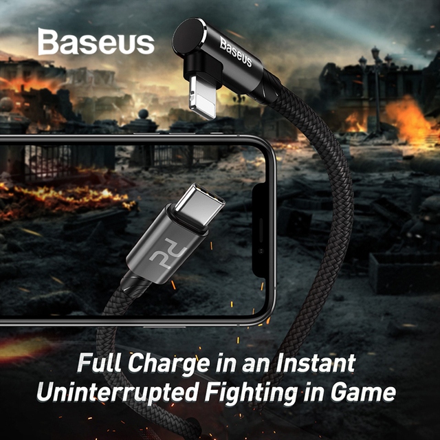 Baseus 18W USB C Fast Charging Cable for iPhone