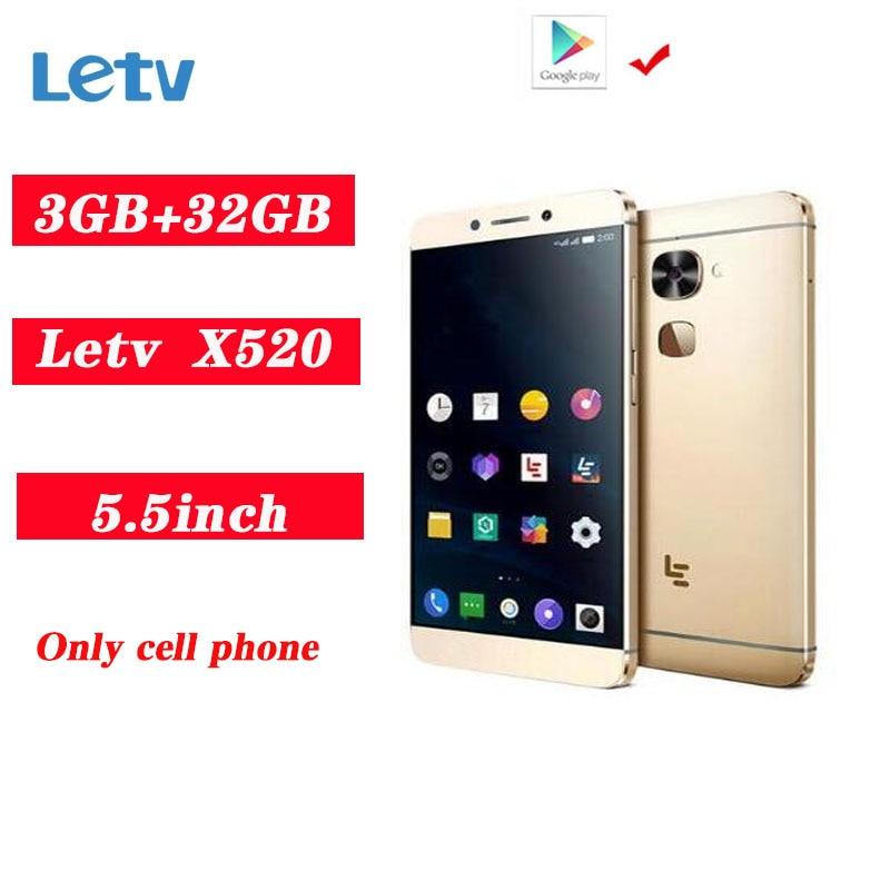 """Letv LeEco Le 2 X520 4G LTE Smartphoe Snapdragon 652 octa-core 3GB 32GB """"1920*1080 16.0MP telefoni cellulari con impronta digitale PK X620"""