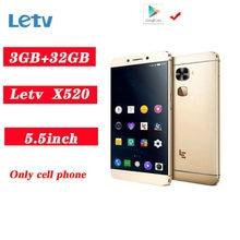 Letv LeEco Le 2 X520 telefoni cellulari LTE Smartphoe 3GB + 32GB 16.0MP versione globale multifunzione per impronte digitali