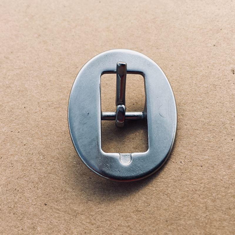1.4CM Stainless Steel Buckle For Garment Bag Leather 10 Pieces Per Bag