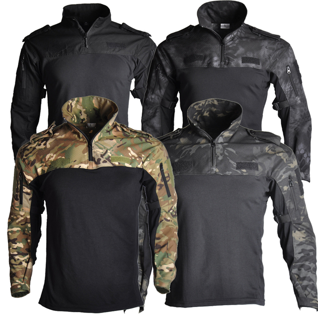 Us Army Clothing Tactical Combat Shirt Military Uniform Tatico Tops Airsoft Multicam Camouflage Hunting Fishing Clothes Mens 1