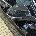 F01 F02 углеродное волокно замена зеркала автомобиля крышка Накладка для BMW 7 серии F01 F02 2012-2015