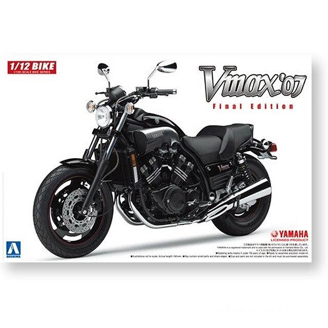1/12 YAMAHA VMAX '07 Motorcycle Model 05165