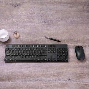 Image 4 - Xiaomi Drahtlose Tastatur & Maus Set 2,4 GHz Tragbare Multimedia Mi Maus Tastatur Combo Notebook Laptop Für Office Home