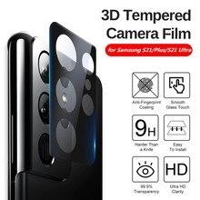 Filme da lente da câmera da borda do arco 3d para samsung galaxy s21 uitra 5g protetor de tela cheia para samsung s21plus s 21 ultra protectivefilm