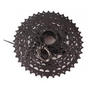 Image 5 - Sunracing CSM680 8 سرعة 11 40T دراجة دراجة جبلية كاسيت 8 سرعات 11 40T شحن مجاني