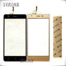 Syrinx Sensor de pantalla táctil de cristal frontal, con cinta, para Prestigio Muze H3 PSP3552 PSP 3552 DUO, Sensor de Panel de Digitalizador de pantalla táctil