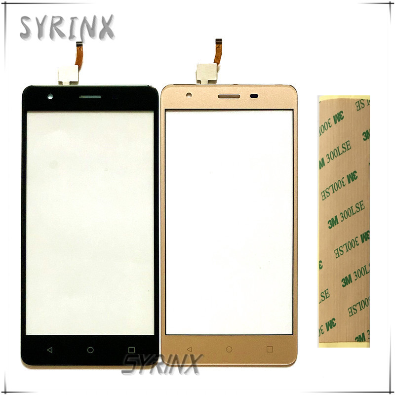 Syrinx With Tape Front Glass Touchscreen Sensor For Prestigio Muze H3 <font><b>PSP3552</b></font> PSP 3552 <font><b>DUO</b></font> Touch Screen Digitizer Panel Sensor image