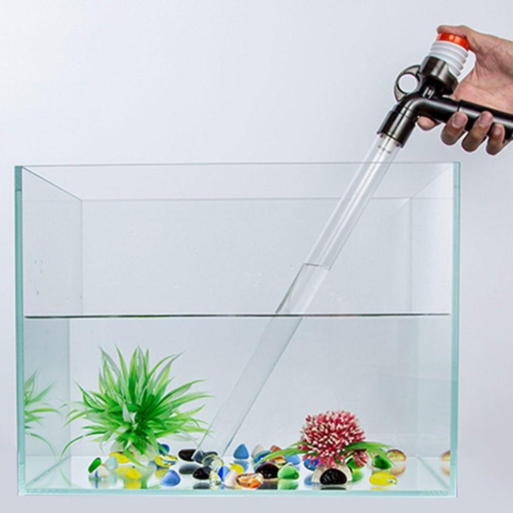 Water Changer Aquarium Fish Tank Change Water Tank Aquarium Clean Sand Filter Siphon Fish Tank Suction