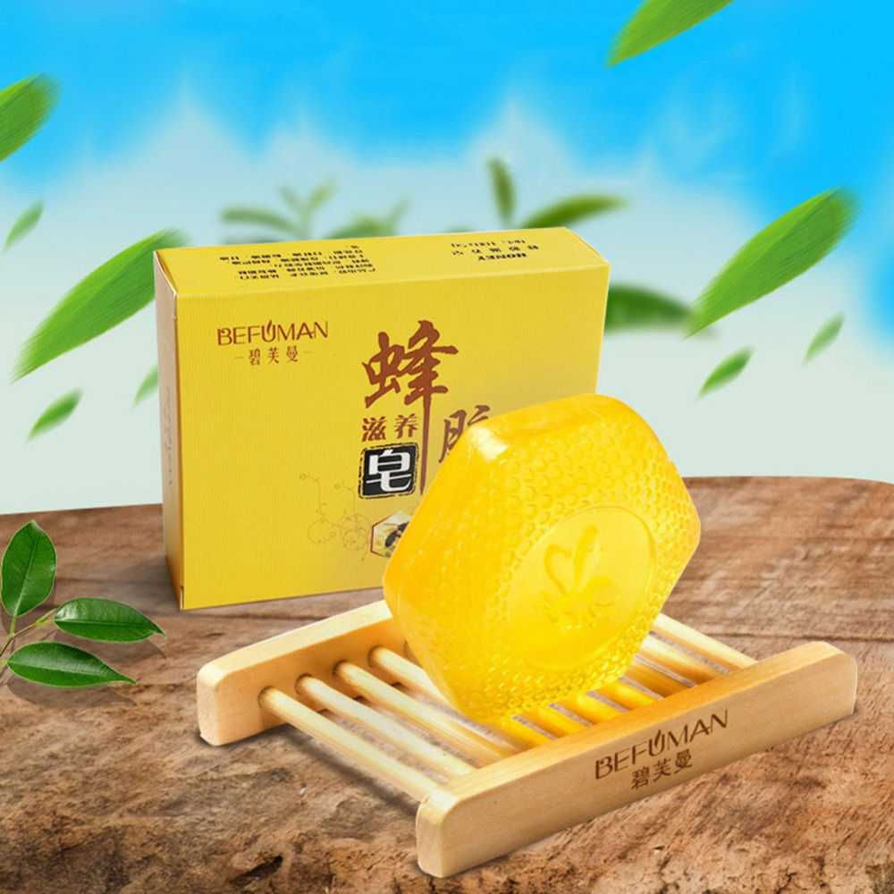 Propolis Cleansing Soap Moisturizing Anti-Mite Oil-Control Anti-Itching Face Body Soap